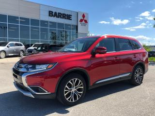 Used 2018 Mitsubishi Outlander ES Premium *Leather *Sunroof for sale in Barrie, ON