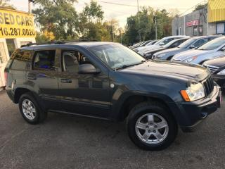 Used 2007 Jeep Grand Cherokee LAREDO/ AUTO/ 4X4/ PWR SEAT/ ALLOYS/ LIKE NEW! for sale in Scarborough, ON