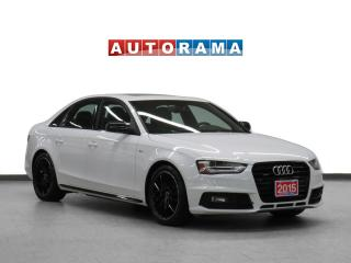 Used 2015 Audi A4 4WD Progressiv Plus Nav Leather Sunroof Backup Cam for sale in Toronto, ON