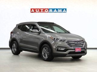 Used 2017 Hyundai Santa Fe Sport AWD Sport Leather Sunroof Backup Cam for sale in Toronto, ON