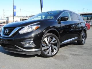 Used 2017 Nissan Murano Platinum for sale in Halifax, NS