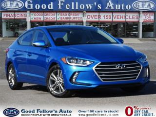 Used 2017 Hyundai Elantra GL MODEL, 4CYL 2.0L, REARVIEW CAMERA,DRIVER ASSIST for sale in Toronto, ON