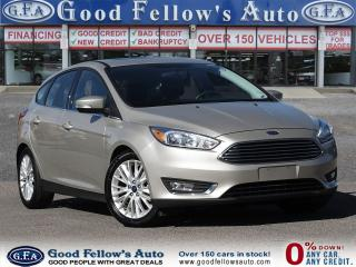 Used 2018 Ford Focus TITANIUM MODEL, SUNROOF, LEATHER SEATS, POWER SEAT for sale in Toronto, ON