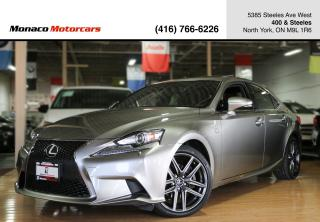 Used 2015 Lexus IS 250 IS250 F SPORT - NAVI|BACKUP|SUNROOF|HTD&COOL SEATS for sale in North York, ON