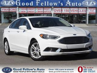 Used 2018 Ford Fusion SE MODEL, SUNROOF, POWER & HEATED & LEATHER SEATS for sale in Toronto, ON