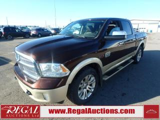 Used 2015 RAM 1500 LARAMIE LONGHORN CREW CAB  4WD 3.0L for sale in Calgary, AB