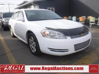 Used 2011 Chevrolet Impala LT 4D Sedan for sale in Calgary, AB