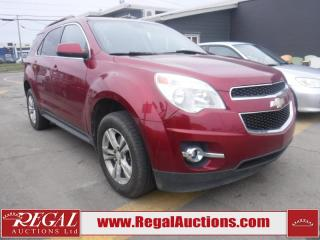 Used 2011 Chevrolet Equinox LT 4D Utility FWD for sale in Calgary, AB