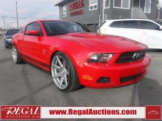 Used 2010 Ford Mustang Base 2D Coupe for sale in Calgary, AB