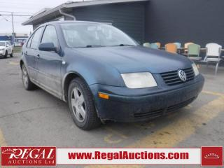 Used 2002 Volkswagen Jetta 4D Sedan TDI for sale in Calgary, AB