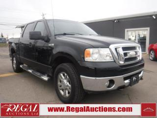 Used 2007 Ford F-150 XLT 4D SUPERCREW 4WD for sale in Calgary, AB