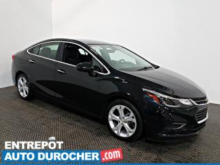 Used 2016 Chevrolet Cruze Premier Automatique - AIR CLIMATISÉ - Cuir for sale in Laval, QC