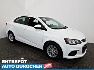 Used 2018 Chevrolet Sonic LT Automatique - AIR CLIMATISÉ - Sièges Chauffants for sale in Laval, QC