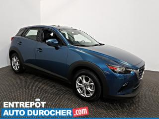 Used 2019 Mazda CX-3 GS AWD TOIT OUVRANT - AIR CLIMATISÉ - Semi Cuir for sale in Laval, QC