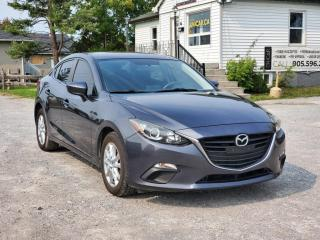 Used 2014 Mazda MAZDA3 NO ACCIDENTS GS BackupCam Bluetooth Push Start Power A/C for sale in Sutton, ON