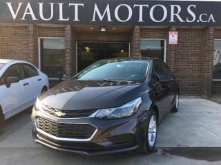 Used 2016 Chevrolet Cruze LT  FACTORY POWERTRAIN WARRANTY for sale in Brampton, ON