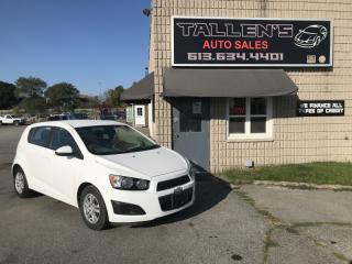 Used 2012 Chevrolet Sonic for sale in Kingston, ON