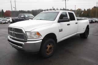 Used 2013 Dodge Ram 3500 ST Crew Cab Long Box Dually Diesel 4WD for sale in Burnaby, BC