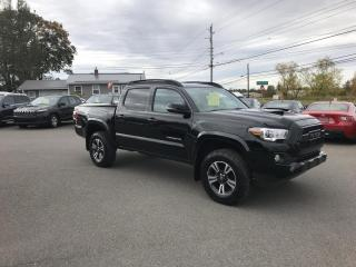 Used 2017 Toyota Tacoma SR5 Double Cab Long Bed V6 6AT 4WD TRD sport for sale in Truro, NS