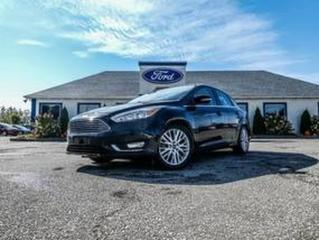 Used 2016 Ford Focus Titanium- LEATHER- SUNROOF- NAVIGATION- BACKUP CAMERA for sale in Essex, ON