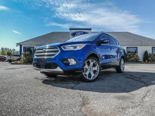 Used 2017 Ford Escape Titanium- LEATHER- PANORAMIC SUNROOF- NAVIGATION for sale in Essex, ON