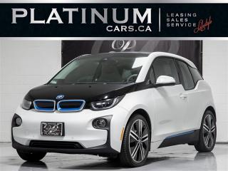 Used 2014 BMW i3 ELECTRIC, Range EXTENDER, NAVI, CAMERA, for sale in Toronto, ON