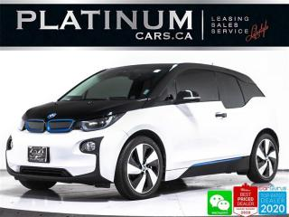 Used 2014 BMW i3 ELECTRIC, NAV, CAM, PARKING, HEATED, KEYLESS, BT for sale in Toronto, ON