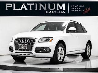 Used 2017 Audi Q5 2.0T quattro Premium, AWD, PANO, PARKTRONIC, BT for sale in Toronto, ON