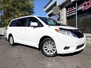 Used 2011 Toyota Sienna 5 portes V6 LE 7 places Traction intégra for sale in Longueuil, QC