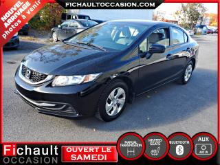 Used 2014 Honda Civic LX*** PNEUS HIVER*** for sale in Châteauguay, QC
