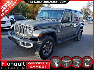 Used 2019 Jeep Wrangler Sahara 4x4*** 2 TOITS*** for sale in Châteauguay, QC