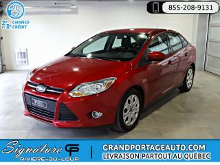 Used 2012 Ford Focus SE Berline Auto A/C *BAS KILO* for sale in Rivière-Du-Loup, QC
