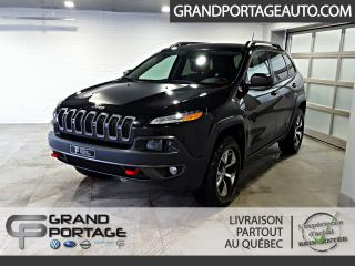 Used 2016 Jeep Cherokee Trailhawk AWD Cuir V6 *Roues & Pneus hiv for sale in Rivière-Du-Loup, QC