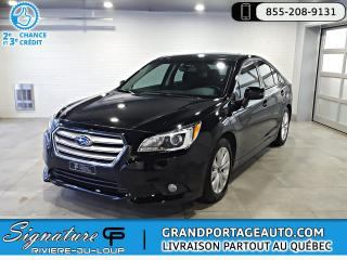 Used 2016 Subaru Legacy 2.5i Touring CVT **TOIT OUVRANT** for sale in Rivière-Du-Loup, QC