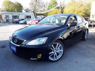 Used 2006 Lexus IS 350 Certified for sale in Oshawa, ON