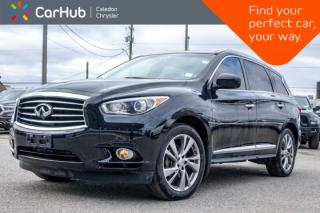 Used 2013 Infiniti JX35 AWD|7 Seater|Navi|Pano Sunroof|DVD|Bluetooth|Leather|Heated Front Seats|Keyless Entry|18