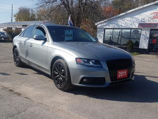 Used 2011 Audi A4 2.0T for sale in Barrie, ON