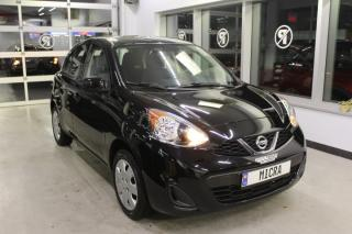 Used 2017 Nissan Micra SV MANUELLE MAIN LIBRE BAS KILOMÉTRAGE for sale in Lévis, QC