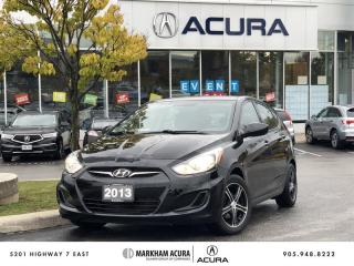 Used 2013 Hyundai Accent 5Dr GL at Aftrmkt Rims, Air Conditioning, Heated Seats for sale in Markham, ON