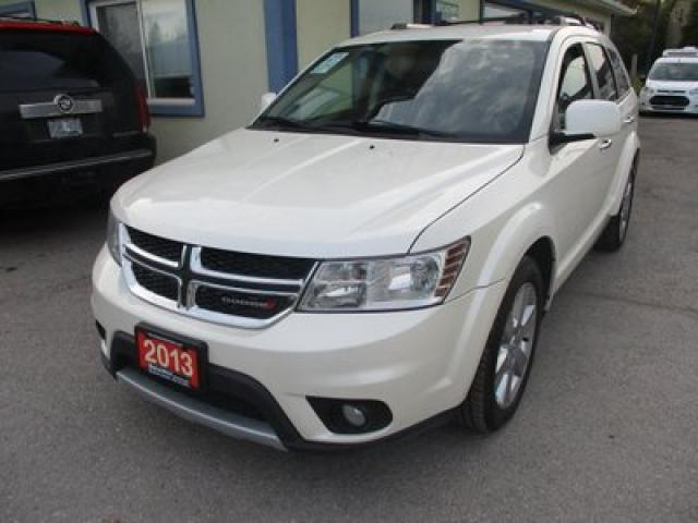 2013 Dodge Journey ALL-WHEEL DRIVE R/T EDITION 5 PASSENGER 3.6L - V6.. NAVIGATION.. LEATHER.. HEATED SEATS.. DVD PLAYER.. BACK-UP CAMERA.. BLUETOOTH..