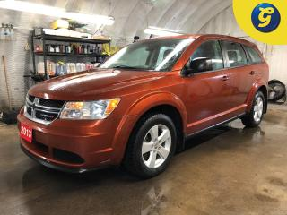 Used 2013 Dodge Journey Dual climate control * Push button ignition * Telescopic/tilt steering * Intermittent front and rear wipers * Power windows/locks/mirrors * Phone conn for sale in Cambridge, ON