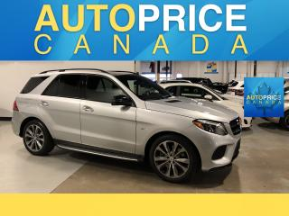Used 2018 Mercedes-Benz AMG GLE 43 NAVIGATION|PANOROOF|LEATHER for sale in Mississauga, ON