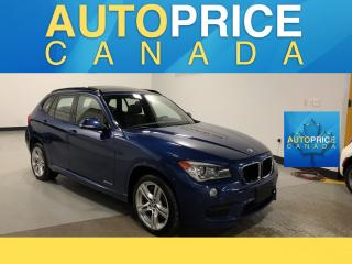Used 2015 BMW X1 xDrive35i M-SPORT PKG|NAVIGATION|PANROOF for sale in Mississauga, ON