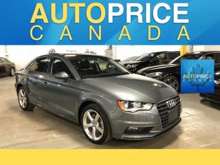 Used 2015 Audi A3 2.0T Progressiv AWD|PANOROOF|LEATHER for sale in Mississauga, ON