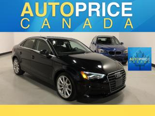 Used 2015 Audi A3 2.0 TDI Progressiv TDI|PANOROOF|LEATHER for sale in Mississauga, ON