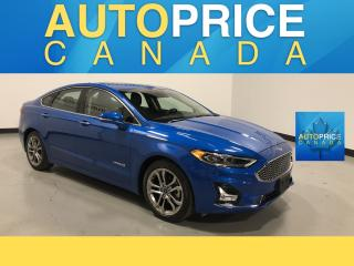 Used 2019 Ford Fusion Hybrid Titanium MOONROOF|NAVIGATION|LEATHER for sale in Mississauga, ON