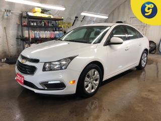 Used 2015 Chevrolet Cruze LT * 6 Speed manual * Chevy Mylink Apple Carplay/Android Auto Phone connect * Voice recognition * 4G LTE Wifi * Reverse camera * Keyless entry * Clima for sale in Cambridge, ON