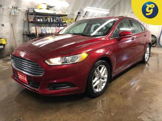 Used 2014 Ford Fusion SE * Projection headlights * Dual climate with rear vents * Heated mirrors * Phone connect * Hands free steering wheel controls * Tilt steering * Trac for sale in Cambridge, ON
