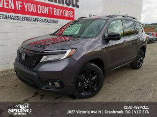 New 2019 Honda Passport Touring for sale in Cranbrook, BC