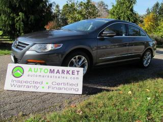 Used 2011 Volkswagen Passat CC SPORT, AUTO, FULLY INSP, BCAA MBSHP, WARRANTY, FINANCE! for sale in Surrey, BC